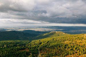 Góry w Karkonoszach