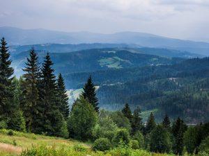 Wisła widok na góry